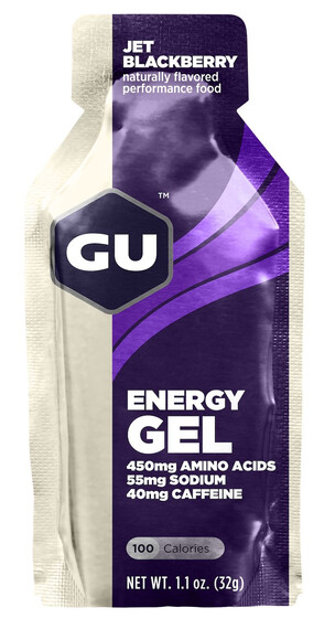 GU Energy Energy Gel Jet Blackberry 32g